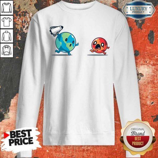 Good Mars Invasion Run Sweatshirt