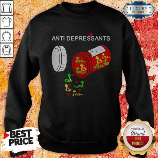 Good Snake Antidepressants SweatshirtGood Snake Antidepressants Sweatshirt