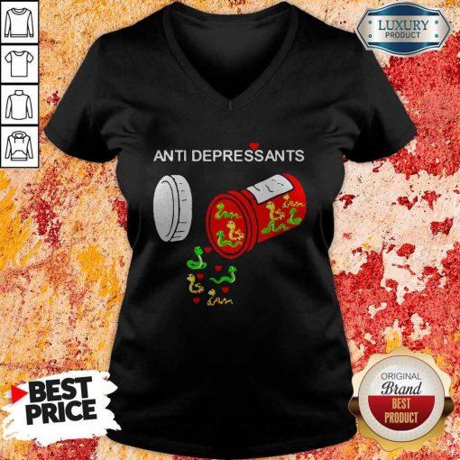 Good Snake Antidepressants V-neck