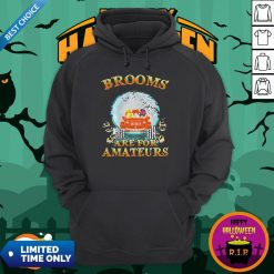 Halloween Brooms Are For Amateurs Jeep Hoodie