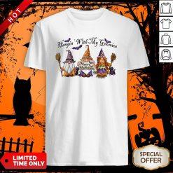 Halloween Hangin With My Gnomies Shirt