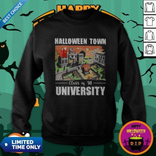 Halloween Town Class Of 98 University Sweatshirt