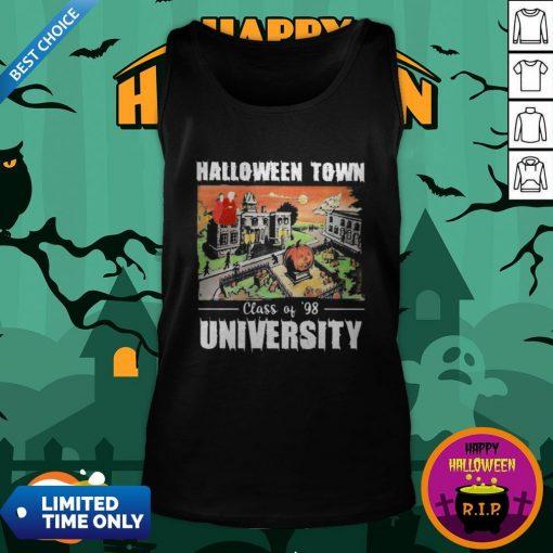 Halloween Town Class Of 98 University Tank Top