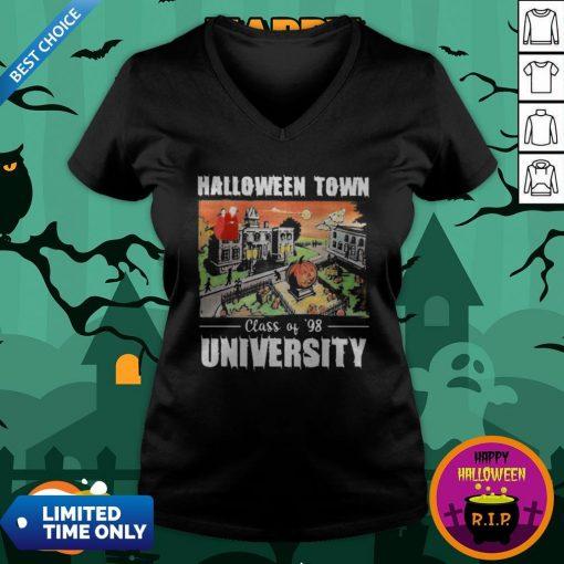 Halloween Town Class Of 98 University V-neckHalloween Town Class Of 98 University V-neck