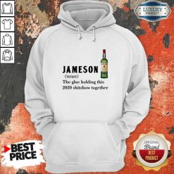Hot Jameson Noun The Glue Holding ThisTogether Hoodie