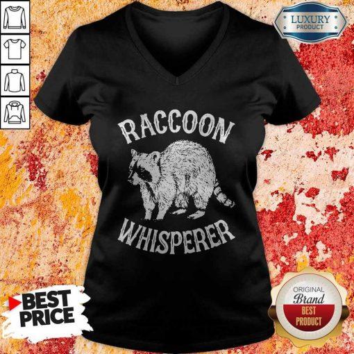 Hot Raccoon Whisperer V-neck