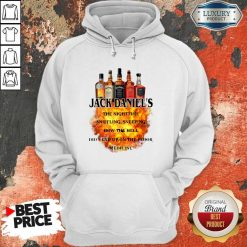 Jack Daniel's The Nighttime Sniffling Sneezing How The Hoodie