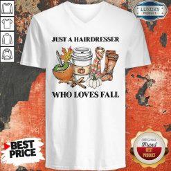 Just A Hairdresser Who Loves Fail V-neck