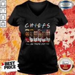 Kansas City Chiefs I'll Be There For You V-neck