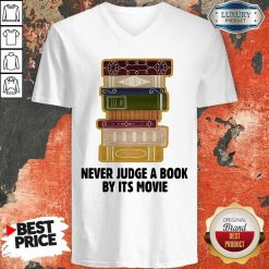 Never Judge A BookBy It's Movie V-neck