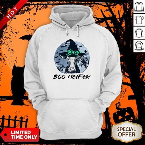 Official Halloween Boo Heifer Hoodie