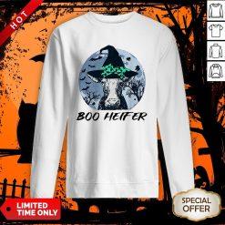 Official Halloween Boo Heifer SweatshirtOfficial Halloween Boo Heifer Sweatshirt