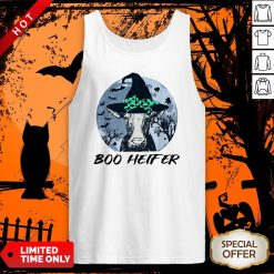 Official Halloween Boo Heifer Tank Top