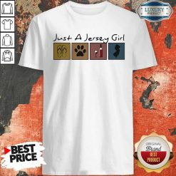 Official Just a New Jersey Girl Sticker ShiOfficial Just a New Jersey Girl Sticker Shirtrt