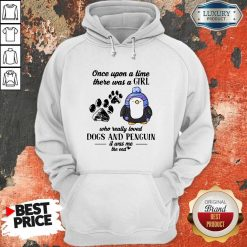 Once Upon A Time There Was Penguin It Was Me The End Hoodie