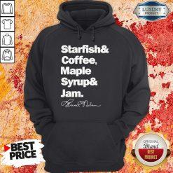 Prince Starfish Coffee Maple Syrup And Jam Hoodie