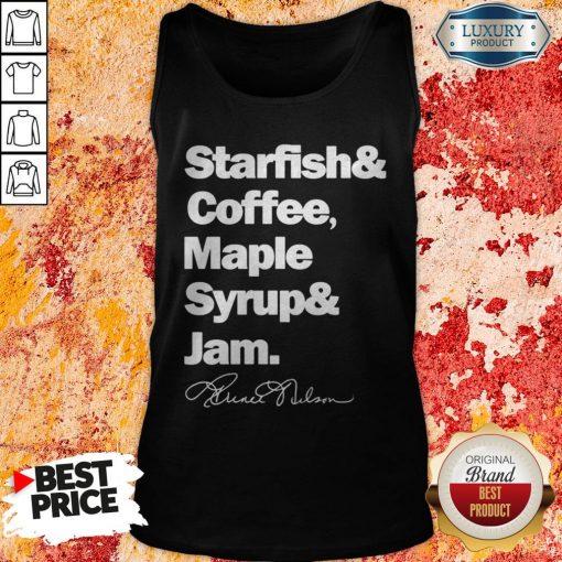 Prince Starfish Coffee Maple Syrup And Jam Tank TopPrince Starfish Coffee Maple Syrup And Jam Tank Top