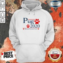 Pug 2020 Because Humans Suck Hoodie