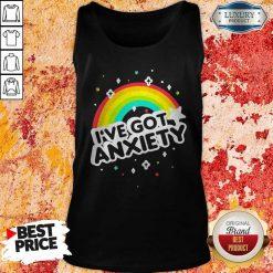 Rainbow I've Got Anxiety Tank Top
