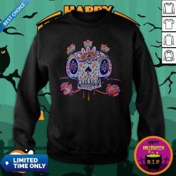 Shooga Sugar Skull Dia De Los Muertos Sweatshirt