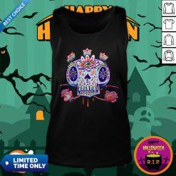 Shooga Sugar Skull Dia De Los Muertos Tank Top