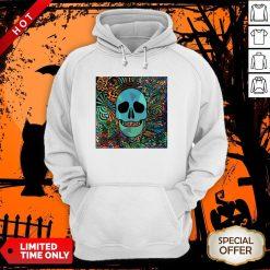 Sugar Skulls Day Of The Dead Nola Colors Classic Hoodie