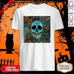 Sugar Skulls Day Of The Dead Nola Colors Classic T-Shirt