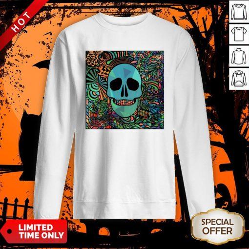Sugar Skulls Day Of The Dead Nola Colors Classic Sweatshirt