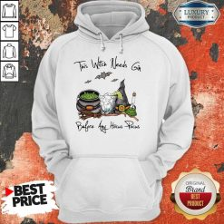 This Witch Needs Coffee Before Any Hocus PoThis Witch Needs Coffee Before Any Hocus Pocus Bats Halloween Hoodiecus Bats Halloween Hoodie