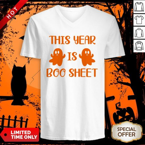 This Year Is Boo Sheet V-neckThis Year Is Boo Sheet V-neck