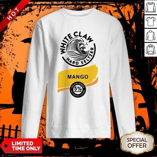 White Claw Hard Seltzer Halloween Costume Sweatshirt