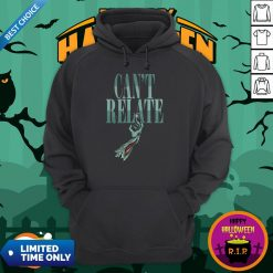 Zombie Can't Relate Halloween Hoodie