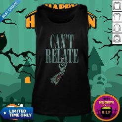 Zombie Can't Relate Halloween Tank TopZombie Can't Relate Halloween Tank Top