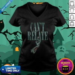 Zombie Can't Relate Halloween V-neck