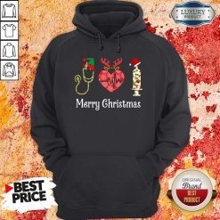 Happy Medical Instruments Merry Christmas Hoodie-Design By Soyatees.com