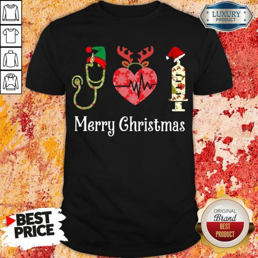 Happy Medical Instruments Merry Christmas Shirt-Design By Soyatees.com