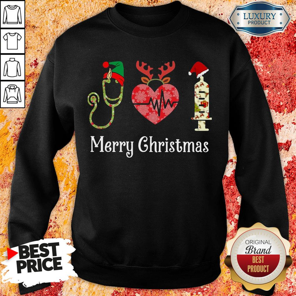 Happy Medical Instruments Merry Christmas Sweatshirt-Design By Soyatees.com