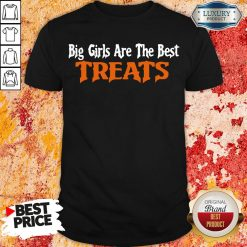Hot Big Girls Are The Best Treats Shirt-Design By Soyatees.com