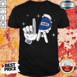 Nice Los Angeles Dodgers Safety Glove Champs Shirt-Design By Soyatees.com