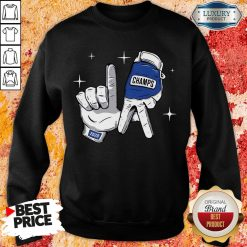 Nice Los Angeles Dodgers Safety Glove Champs Sweatshirt-Design By Soyatees.com