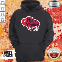 Top Buffalo Bills Mafia Means Family Hoodie-Design By Soyatees.com