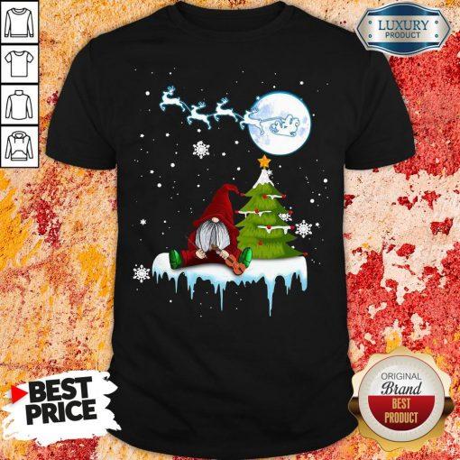 Good Gnome Play Violin Merry Christmas Shirt-Design By Soyatees.com
