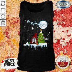 Good Gnome Play Violin Merry Christmas Shirt Tank Top -Design By Soyatees.com