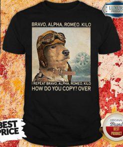 Awesome Bravo Alpha Romeo Kilo I Repeat Bravo Alpha Romeo Kilo How Do You Copy Over Shirt-Design By Soyatees.com