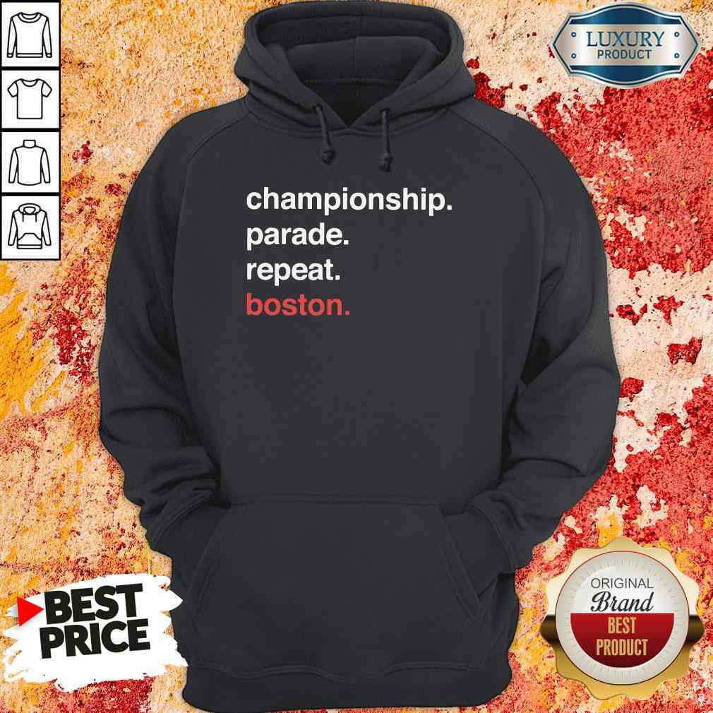Awesome Championship Parade Repeat Boston 2020 Hoodie-Design By Soyatees.com