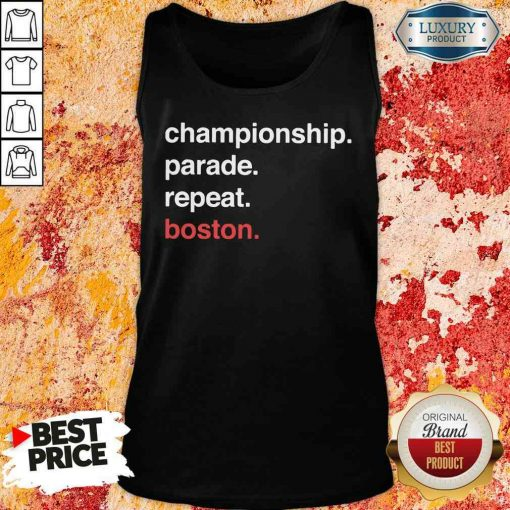 Awesome Championship Parade Repeat Boston 2020 Tank Top-Design By Soyatees.com