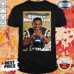Cover Tee San Diego Chargers 2009 Ladainian Tomlinson Shirt-Design By Soyatees.com