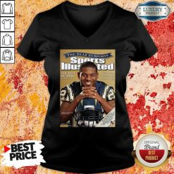 Cover Tee San Diego Chargers 2009 Ladainian Tomlinson V-neck-Design By Soyatees.com