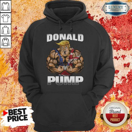 Strong Man Donald Pump Hoodie-Design By Soyatees.com