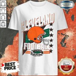 Funny Cleveland Browns Football America Stars Shirt-Design By Soyatees.com